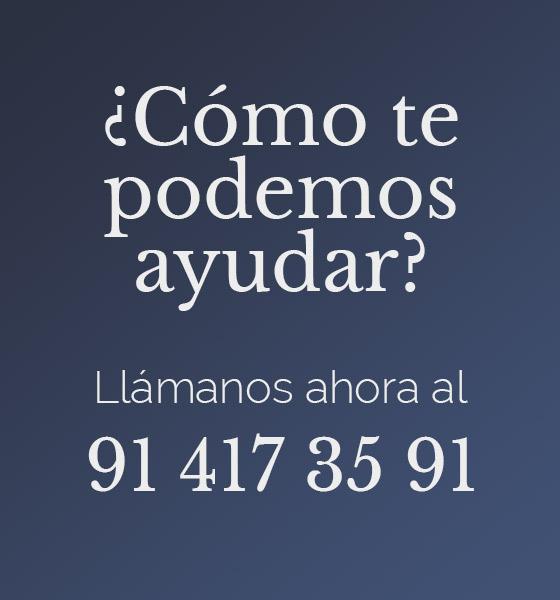 Llámanos al 91 417 35 91